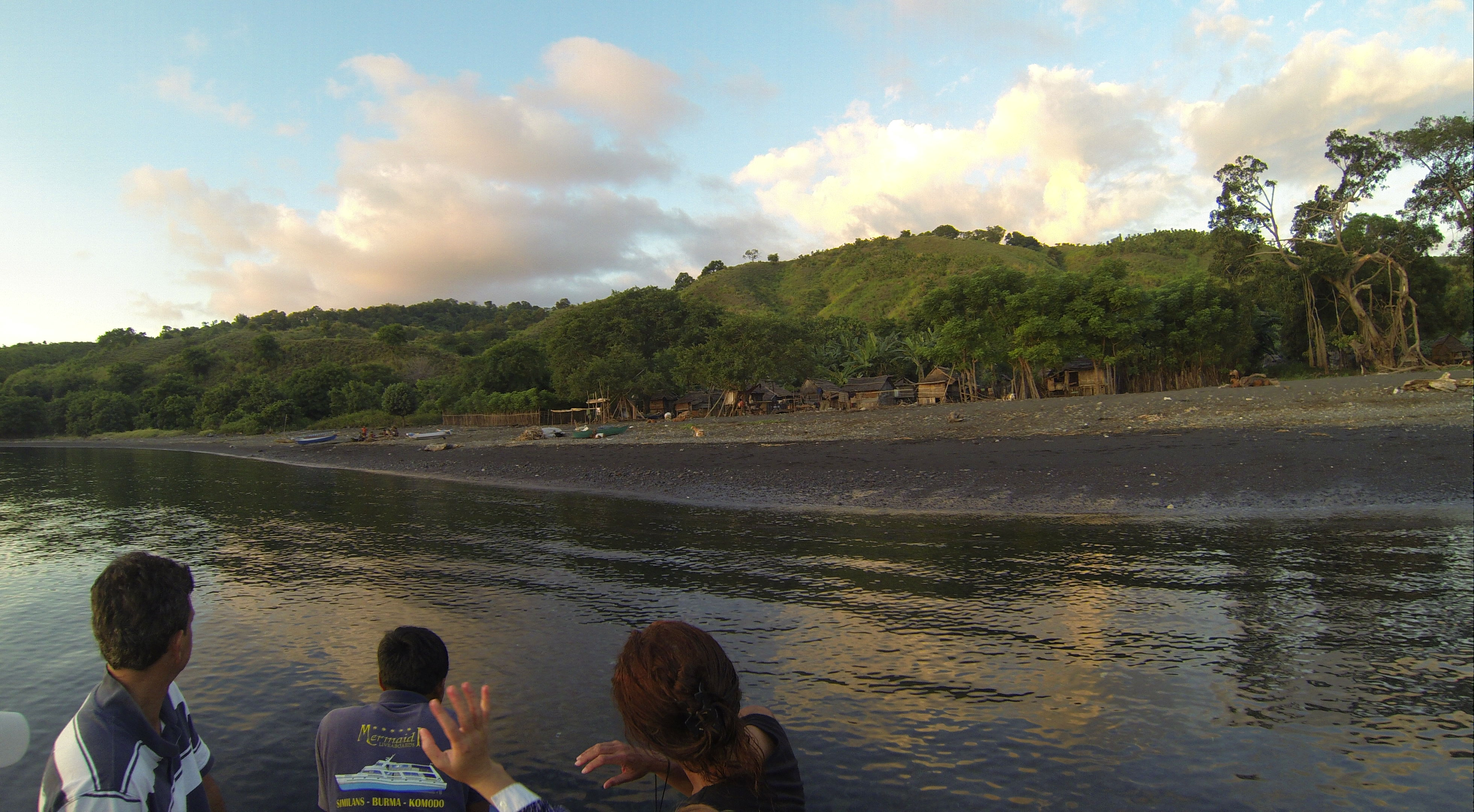 Bontoh Village, Moyo Island/Sumbawa (Foto aus GoPro-Video)