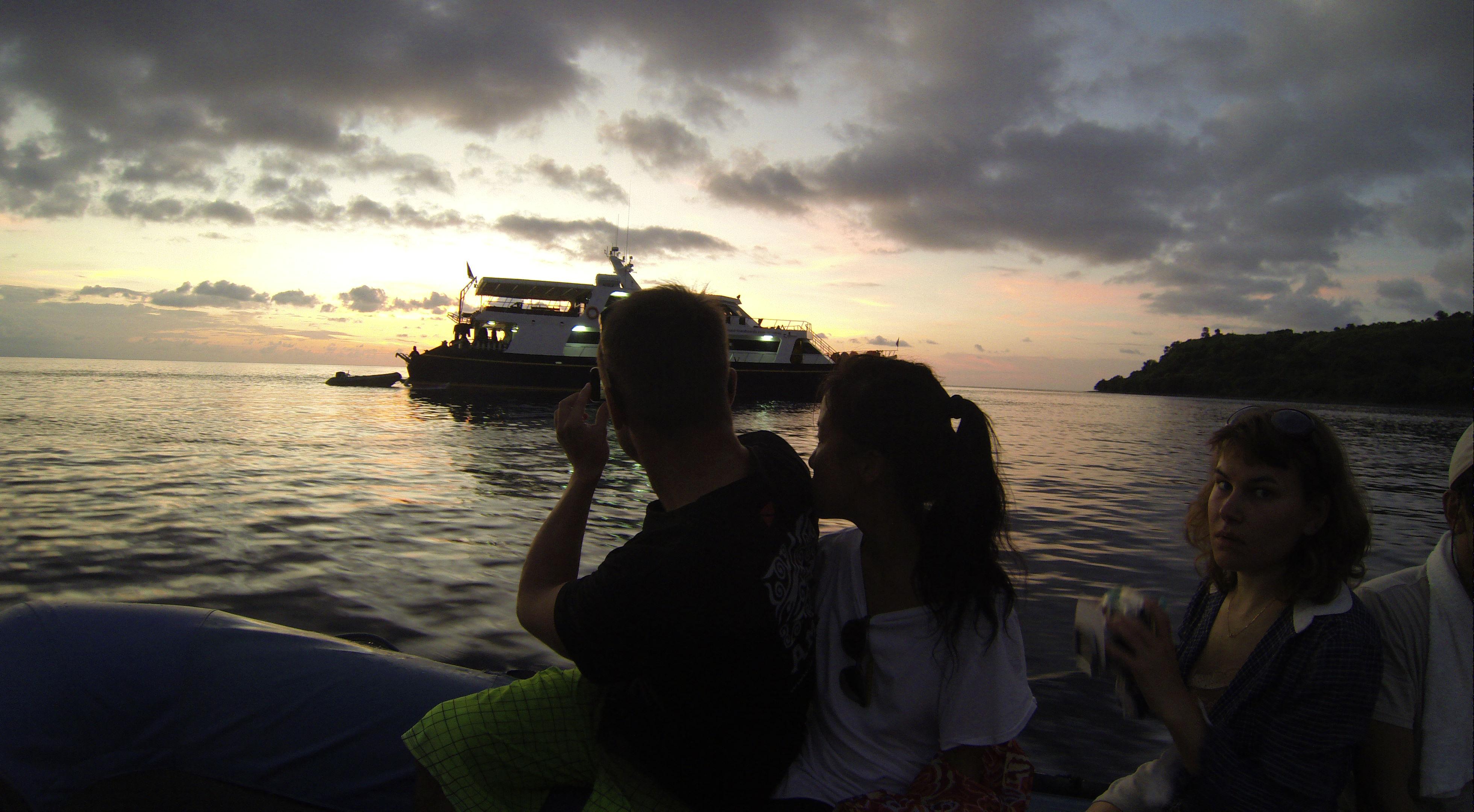 Letzer Abend… Moyo Island/Sumbawa (Foto aus GoPro-Video)