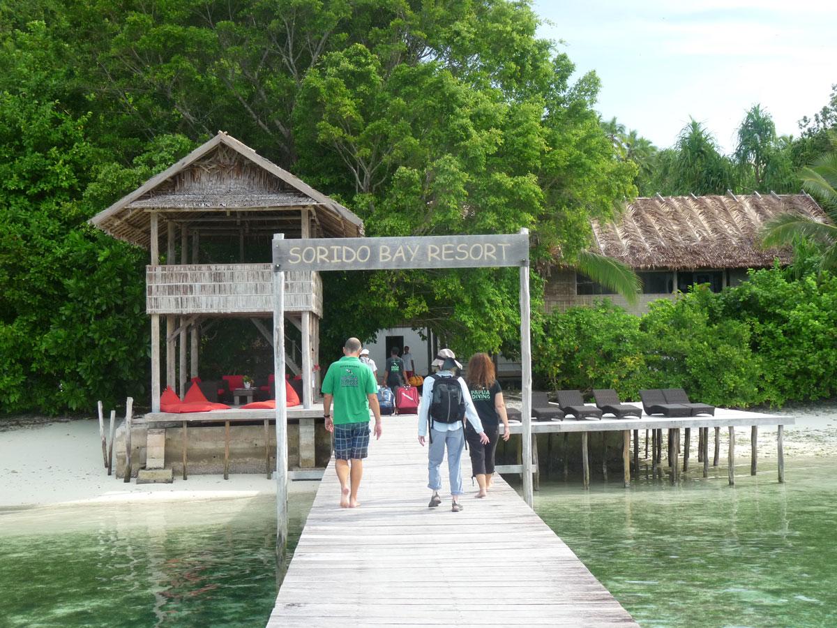 Sorido Bay Resort, Pulau Kri - Dampier Strait/Raja Ampat