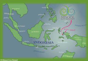 Misool Eco Resort - Lageplan