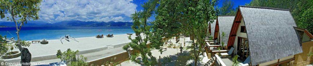 Lumbung Beach Cottages, Hotel Vila Ombak/Gili Trawangan