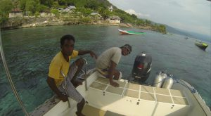 Alor Divers - Tauchboot (Foto aus GoPro-Video by C. Knost)