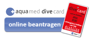 aqua med dive card online beantragen